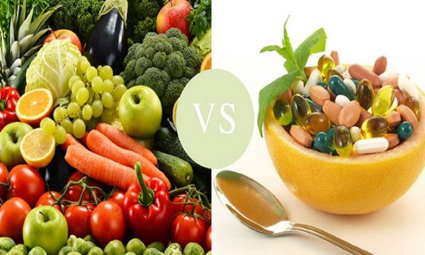 Natural vs. synthetic vitamins sources