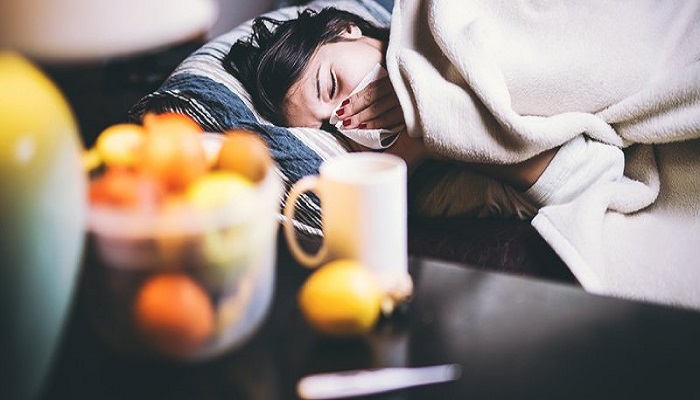 Few tips to relive flu symptoms